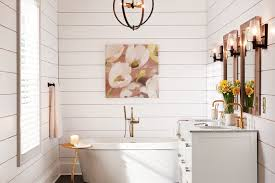 shop by room modern farmhouse bathroom shop by room the home depot