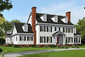Hip Roof Colonial House Plans House Plan 940 00020 Colonial Plan 6 858 Square Feet 6