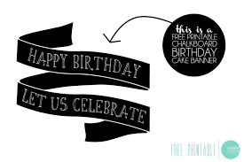 Free Printable Birthday Cake Banner | free printable birthday cake banner minted strawberry