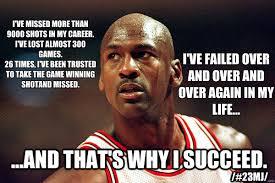 Michael Jordan Meme - i ve missed more than 9000 shots in my career i ve lost almost