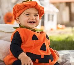 Pumpkin Halloween Costume Baby Pumpkin Costume Pottery Barn Kids