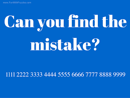 can you find the mistake picture puzzles for teens with answers