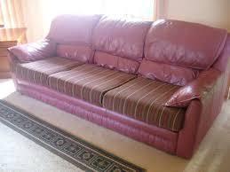 Creative Sofa Design Recover A Leather Sofa Cushion Centerfieldbar Com