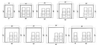 garage dimensions garage sizes download dimensions of two car garage adhome quality dogs