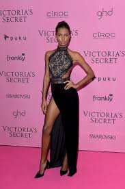 Laverne Cox In Bao Tranchi by 47 Victoria U0027s Secret Show Models At The Glam After Party Jasmine