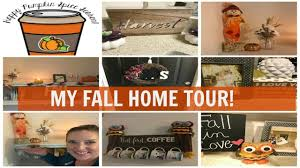 my fall home tour how to decorate for fall for cheap youtube