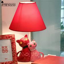 aliexpress com buy iminovo cute cat desk lamp led e27 bulb