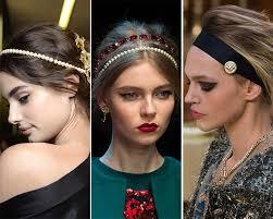 designer hair accessories fall winter 2015 2016 hair accessory trends fall winter 2015