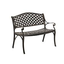 walker edison furniture company 42 in cast aluminum wicker style