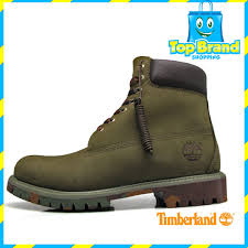 s waterproof boots s inch premium waterproof boots timberland green suede