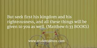 Seeking Where The Things Are Daily Devotion And Bible Verse August 3 Student Devos Youth