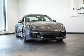 gray porsche 911 2017 porsche 911 4s for sale in colorado springs co 17026
