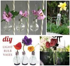 Flower Light Bulbs - diy decoration from bulbs u2013 120 craft ideas for old light bulbs