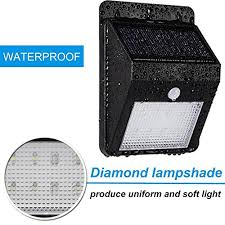 bright light solar 2 pack inarock large size 8 led outdoor bright solar light solar