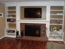 How To Build Bookshelves How To Build Built In Bookshelves Around Fireplace Picmia