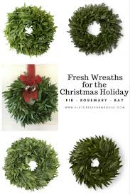 fresh wreaths for the home collection flat