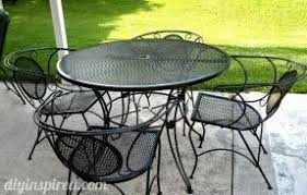 metal patio table and chairs set fresh outdoor furniture metal foter