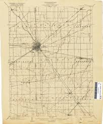 Dayton Ohio Map Ohio Historical Topographic Maps Perry Castañeda Map Collection