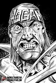 coloring download hulk hogan coloring pages hulk hogan coloring