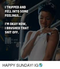 Fell Into Some Feelings Meme - 25 best memes about i tripped and fell into some feelings i