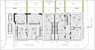 floor plans the old fire station shipperies durning road