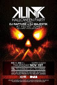 halloween party santa barbara klink beta release gangname style party x 10 12 2012 x velvet