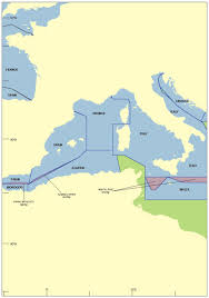 Map Of Mediterranean Sea The Left To Die Boat Forensic Architecture