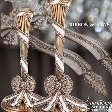 wedding cake cutting set luxurious wedding accessories chagne flutes cake sets