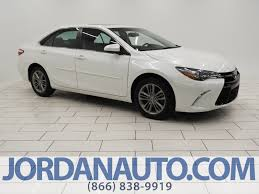 certified pre owned 2015 toyota camry se 4dr car in mishawaka
