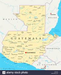 United States Map With States And Capitals Labeled by Guatemala Political Map With Capital Guatemala City National