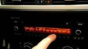 bmw radio professional manual facelift e87 e90 youtube