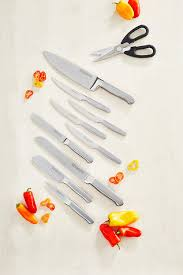 Kitchen Aid Knives Amazon Com Kitchenaid Kkfss14bo 14 Piece Classic Forged Series