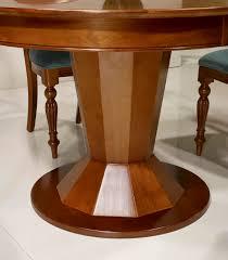Table Ronde Blanche Avec Rallonge Pied Central by Table Bois Ronde Pied Central Acheter Votre Table Ovale Plateau