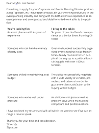 it cover letter format 6912
