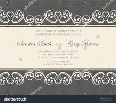 Damask Wedding Invitations Damask Wedding Invitation Announcement Card Stock Vector 129571454