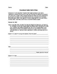Countdown Deborah Wiles Quizzes The Giver Euphemism Worksheet Worksheets Language And Students