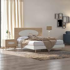 meuble elmo chambre chambre adulte lit tête de lit chevet commode armoire miroir