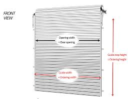 Standard Curtain Sizes Chart by Garage Doors Shocking Garage Door Dimensions Photo Ideas Doors