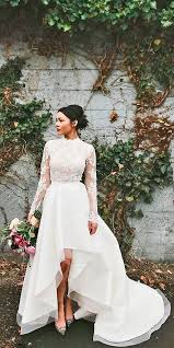 high low wedding dress trend of the year 15 high low wedding dresses