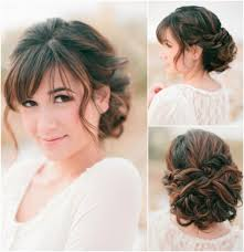 hairstyles that have long whisps in back and short in the front beautifully elegant updo wedding hairstyles modwedding wedding