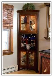 Distressed Wood Bar Cabinet Distressed Wood Liquor Cabinet Distressed Aged Portable Two