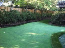 Backyard Chipping Green Atlanta Putting Greens