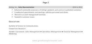 Great Sample Resume by Resume Management Skills Berathen Com