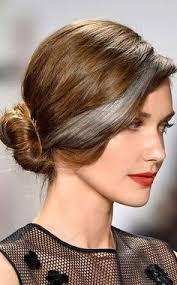 grey streaks in hair black hair with grey streaks hair pinterest gray streaks