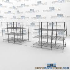 Shelves On Wheels by Rolling Hospital Wire Shelving On Tracks Sliding Adjustable Wire