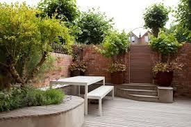 Small Townhouse Backyard Ideas Jardin Entrada Pequeno Urbano Diseno Scenario Architecture