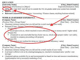 Resumes For Banking Jobs by Résumé Tips For Wall Street Internships Business Insider
