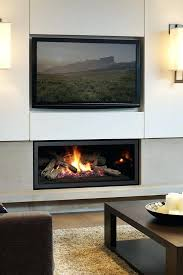 outdoor gas fireplace contemporary ventless designs nature wall