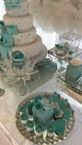 Tiffany Color Party Decorations Tiffany Quinceañera