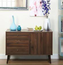 Kitchen Console Cabinet Modern Buffet Ebay